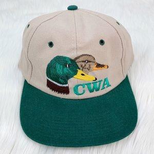 Vintage 90's California Duck Trucker Hat